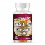 Omega 3 - 2000, 60 softgels (Stacker2)